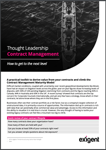 Next Level Contract Management