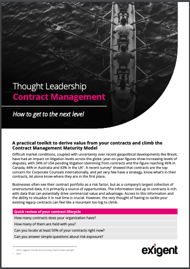 Thought Leadership Contract Mgmt